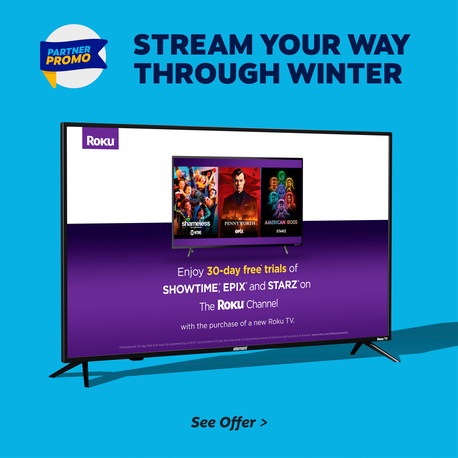 Stream your way through winter
